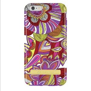 Trina Turk iPhone 6S Case Purple Pink Floral